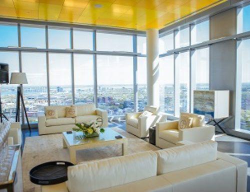 YUL Condominiums dévoile son SKY LOUNGE au 38e étage de la tour 1