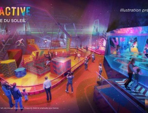 Le Groupe Cirque du Soleil lancera des centres de divertissement familial