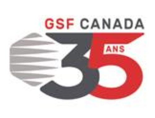 GSF Canada célèbrera ses 35 ans!