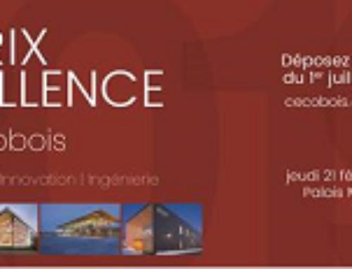 Lancement des Prix d'excellence Cecobois 2019