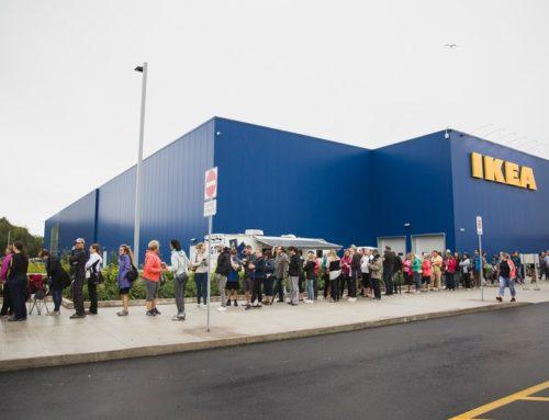 Des milliers de visiteurs à la grande ouverture du magasin IKEA de Québec