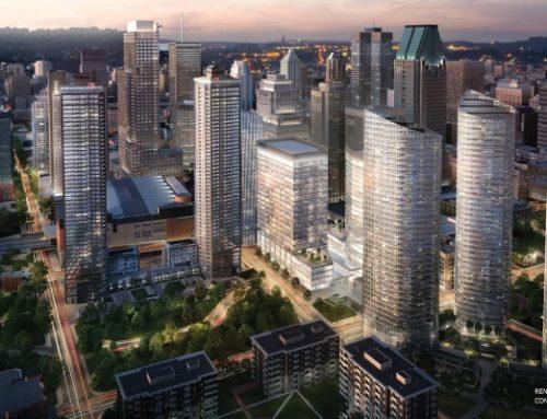 La Tour des Canadiens 2 et 3, le projet résidentiel le plus prisé de Montréal, célèbre le début des travaux de construction de sa remarquable passerelle