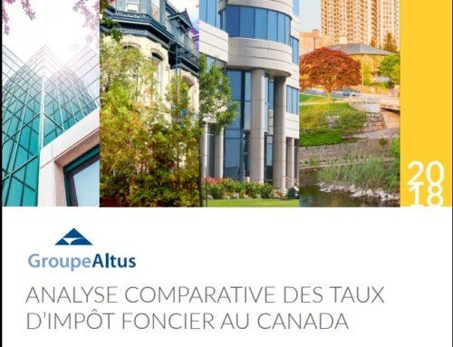 Analyse comparative des taux d'impôt foncier au Canada