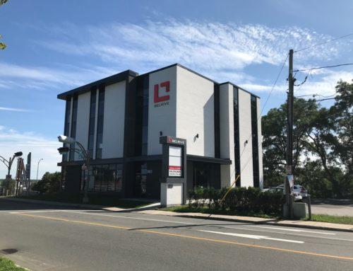 Nouveau siège social de Groupe immobilier Bel-Rive