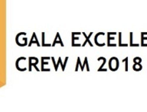 Gala Excellence CREW M 2018 – Les gagnantes