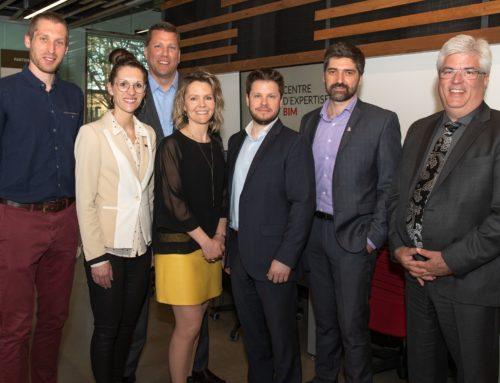 Le centre d'expertise BIM compte sur cinq nouveaux partenaires de l'industrie