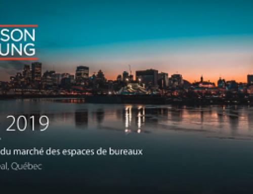 Avison Young | Survol du marché des bureaux de Montréal | Été 2019