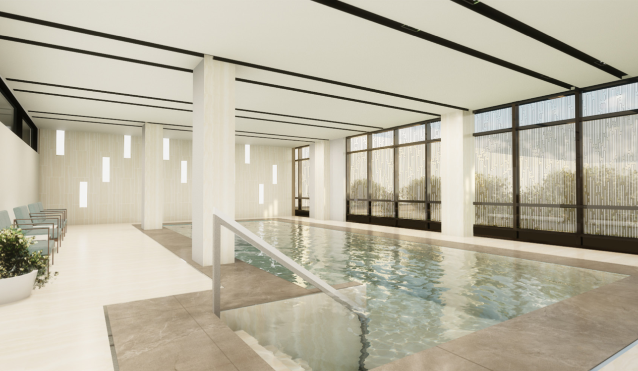 Chartwell – piscine