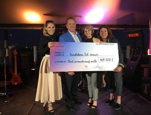Devimco Immobilier remet 169 000 $ à la Fondation Tel-jeunes