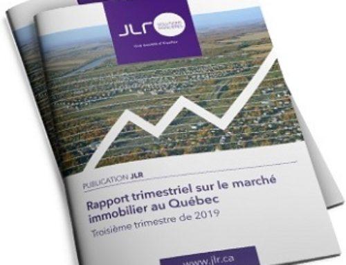 Rapport trimestriel sur le marché immobilier du Québec – troisième trimestre de 2019