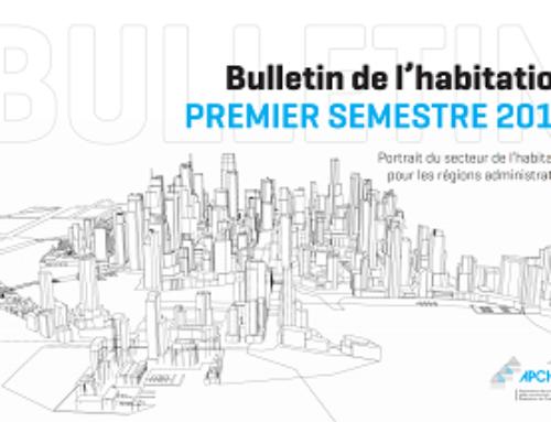 Mises en chantier résidentielles pour les six premiers mois au Québec : meilleur début d'année depuis 2010