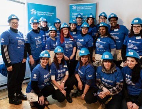 Habitat pour l'humanité Québec et Lowe's Canada rassemblent des femmes pour promouvoir la cause du logement sécuritaire et abordable dans le cadre de la Semaine internationale de construction au féminin