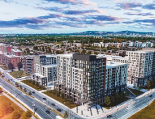Dévoilement d'un projet immobilier d'envergure dans l'arrondissement Saint-Laurent