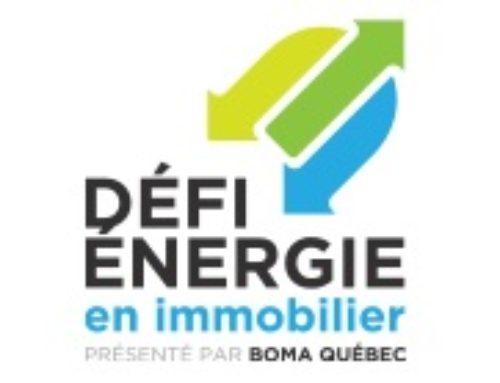 2e Événement reconnaissance du Défi énergie en immobilier