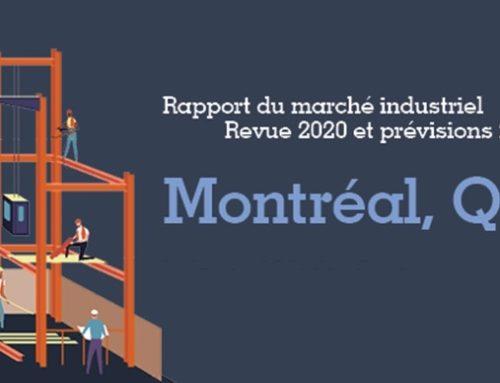 Rapport du marché industriel du Grand Montréal (Revue 2020 et prévisions 2021)