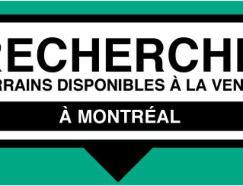 Recherche terrains disponibles à la vente à Montréal