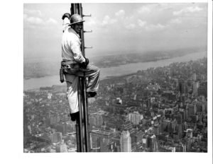1950s-Steelworker—Television-Tower