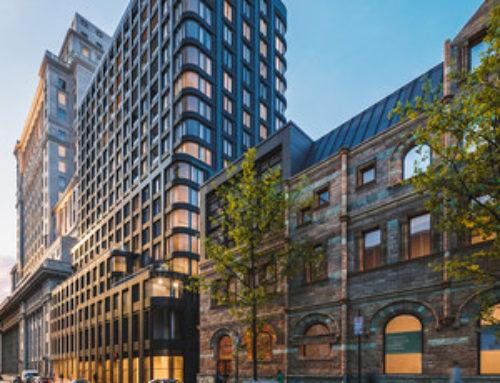 LE MANSFIELD : un projet résidentiel unique dans un lieu emblématique surplombant la rue Sainte-Catherine
