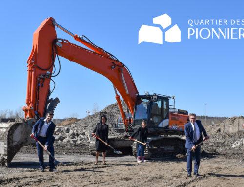 Groupe Dallaire lance le Quartier des Pionniers à Lévis