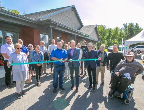 Han-Logement inaugure à Richmond un nouvel immeuble de huit logements entièrement adaptés
