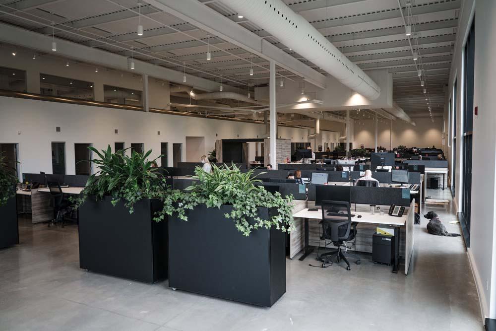 Nouveau siège social de Mondou – Groupe Legault à Anjou – intérieur2